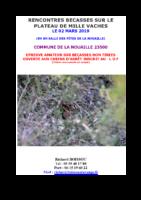 affiche N°3 Rencontre bécasses 2019