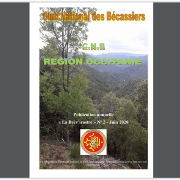 Journal CNB OCCITANIE. la BREVIROSTRE N°3. 2019.20