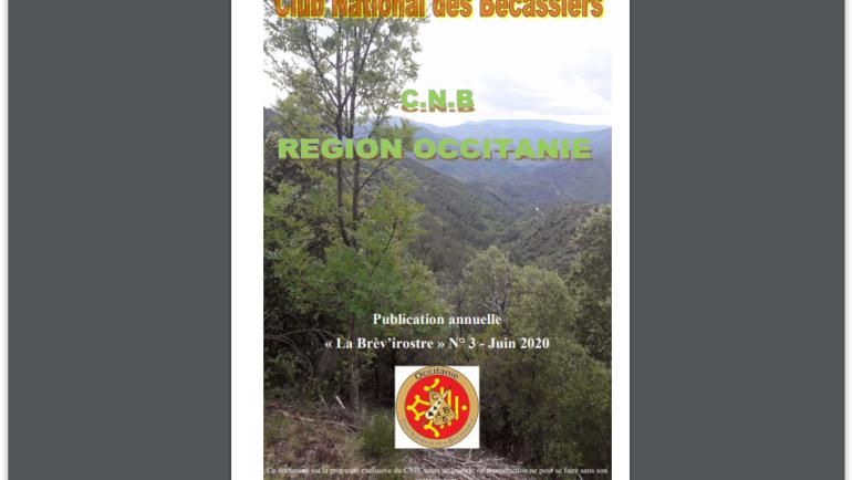Journal CNB OCCITANIE. la BREVIROSTRE N°3. 2019.20