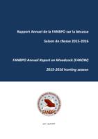 2015_2016 Rapport Annuel de la FANBPO sur la bécasse Saison de chasse 2015-2016