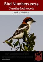 Une approche science citoyenne pour le suivi de la Bécasse des bois en hivernage_BOOK-OF-ABSTRACTS-EBCC_BIRD_NUMBERS_2019